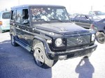 W463 G Wagon Shot up